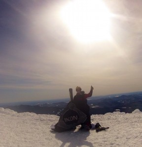 1st of 2 summits on Mount Washington NH